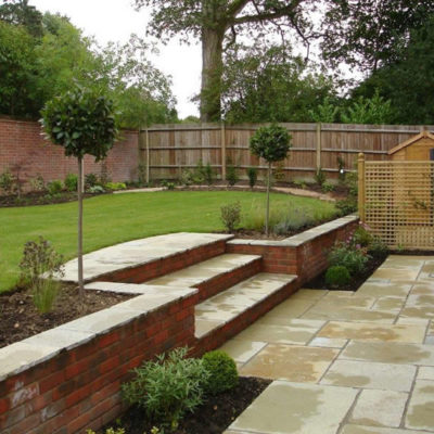Cotswold Yellow limestone paving